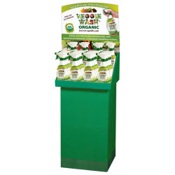 Veggie Wash ORGANIC 24-piece Floor Display