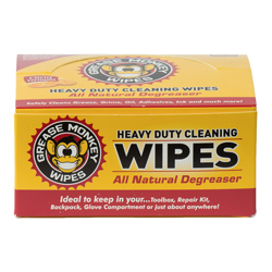 Grease Monkey Wipes Heavy-Duty Individual Wipes, 24-Count
