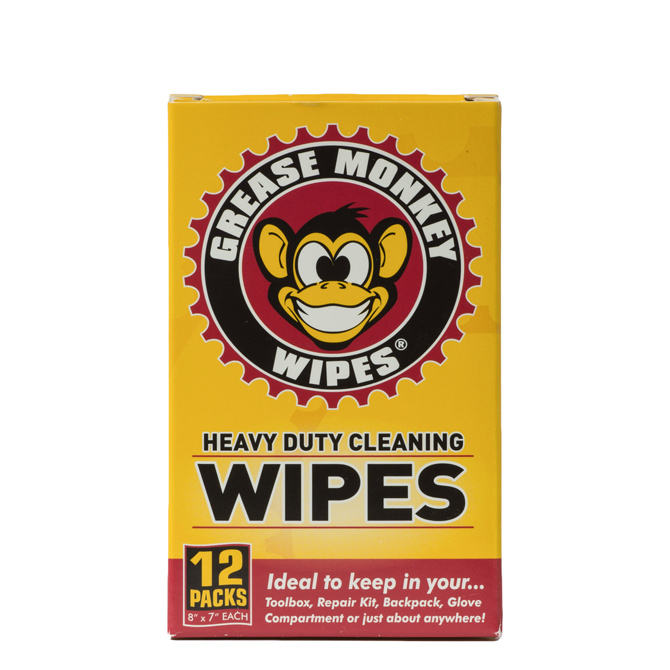 grease monkey wipes Grease monkey wipes grease monkey wipes was created by frustrated cyclists who wanted an easy, portable way to clean up after getting greasy from changing a flat tire we are committed to helping.