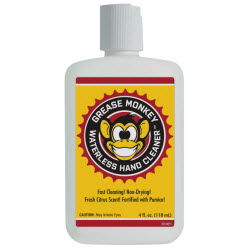 Grease Monkey Wipes Waterless Hand Cleaner, 4.0 fl. oz.