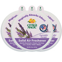 Citrus Magic Solid Air Freshener, 8.0 oz., 3-Pack, Lavender Escape