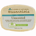 Clearly Natural Glycerine Bar Soap, 4 oz., Unscented