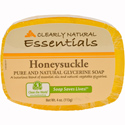Clearly Natural Glycerine Bar Soap, 4 oz., Honeysuckle