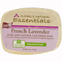 Clearly Natural Glycerine Bar Soap, 4 oz. French Lavender