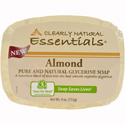 Clearly Natural Glycerine Bar Soap, 4 oz., Almond